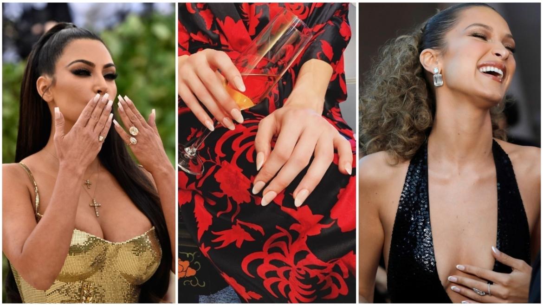 Γαλλικό manicure: Υιοθετήστε την τάση που λατρεύουν τώρα οι stars